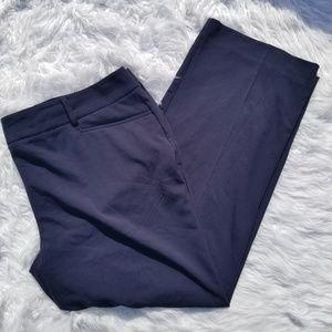 Michael Kors Black Gramercy Fit Black Pants 20W